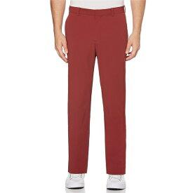 ペリーエリス メンズ カジュアルパンツ ボトムス Slim-Fit Flat-Front Performance Stretch Tech Casual Pants Oxblood Red