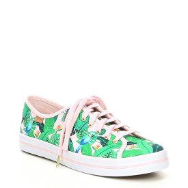 ケッズ レディース スニーカー シューズ x Sunnylife Kickstart Tropical Print Sneakers Pink Multi