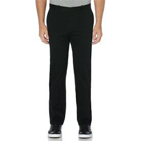 ペリーエリス メンズ カジュアルパンツ ボトムス Slim-Fit Wrinkle-Resistant Water-Repellent Solid Stretch Chino Pants Black