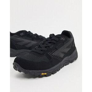 ハイテック メンズ スニーカー シューズ Hi-Tec BW Infinity chunky sneakers in black Black