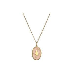 フォッシル レディース ネックレス・チョーカー・ペンダントトップ アクセサリー Modern & Magic Heart Enamel Pendant Necklace Gold