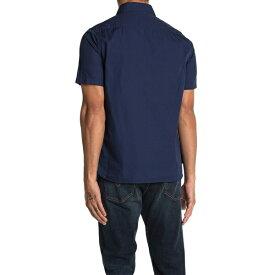 デウス エクス マキナ メンズ シャツ トップス Service Polin Shirt NAVY