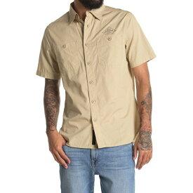 デウス エクス マキナ メンズ シャツ トップス Service Polin Shirt SAFARI