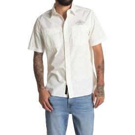 デウス エクス マキナ メンズ シャツ トップス Service Polin Shirt VINTAGE WHITE