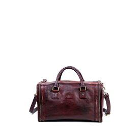 オールドトレンド レディース ハンドバッグ バッグ Cambria Leather Satchel Bag RUSTY RED