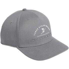 アディダス メンズ 帽子 アクセサリー adidas Men's Three Stripes Brand Golf Hat Grey