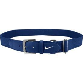 ナイキ メンズ 野球 スポーツ Nike Adult Baseball Belt 2.0 Navy/White