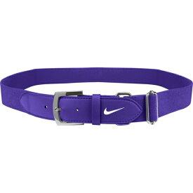 ナイキ メンズ 野球 スポーツ Nike Adult Baseball Belt 2.0 Purple/White