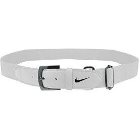 ナイキ メンズ 野球 スポーツ Nike Adult Baseball Belt 2.0 White/Black