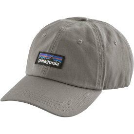パタゴニア メンズ 帽子 アクセサリー Patagonia Men's P-6 Label Trad Cap DrifterGrey