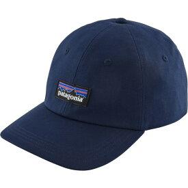 パタゴニア メンズ 帽子 アクセサリー Patagonia Men's P-6 Label Trad Cap ClassicNavy