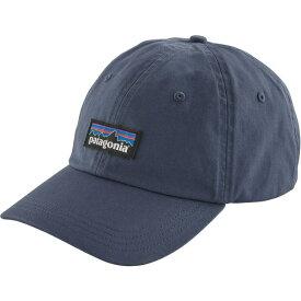 パタゴニア メンズ 帽子 アクセサリー Patagonia Men's P-6 Label Trad Cap DolomiteBlue