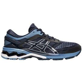 アシックス メンズ ランニング スポーツ ASICS Men's GEL-Kayano 26 Running Shoes Navy/Grey