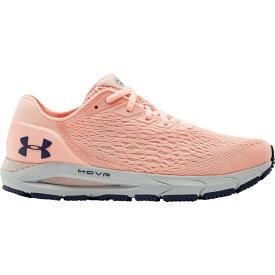 アンダーアーマー レディース ランニング スポーツ Under Armour Women's HOVR Sonic 3 Running Shoes Orange/White
