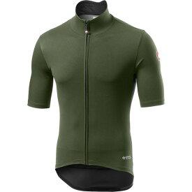 カステリ メンズ サイクリング スポーツ Perfetto RoS Light Jersey - Men's Military Green