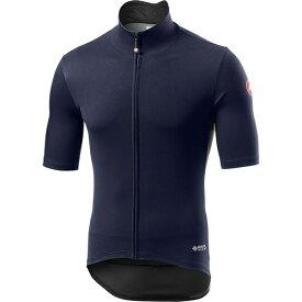 カステリ メンズ サイクリング スポーツ Perfetto RoS Light Jersey - Men's Savile Blue