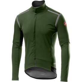 カステリ メンズ サイクリング スポーツ Perfetto RoS Convertible Jacket - Men's Military Green
