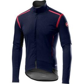 カステリ メンズ サイクリング スポーツ Perfetto RoS Convertible Jacket - Men's Savile Blue