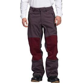 アディダス メンズ スノーボード スポーツ 20K Fixed Pant - Men's Mineral Red/Maroon/Signal Green