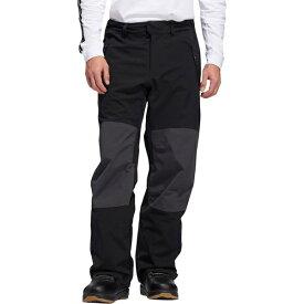 アディダス メンズ スノーボード スポーツ 20K Fixed Pant - Men's Black/Utility Black/Signal Orange