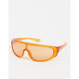 アーネット メンズ サングラス・アイウェア アクセサリー Arnette x Post Malone orange visor sunglasses Orange