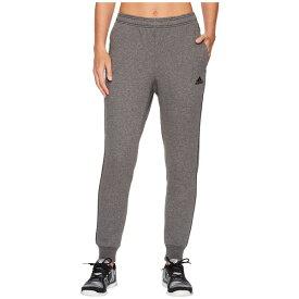 アディダス レディース カジュアルパンツ ボトムス Core18 Sweatpants Dark Grey Heather/Black