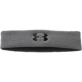 アンダーアーマー レディース ヘアアクセサリー アクセサリー Under Armour Performance Headband Graphite/Black