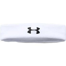 アンダーアーマー レディース ヘアアクセサリー アクセサリー Under Armour Performance Headband White/Black