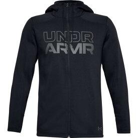アンダーアーマー メンズ シャツ トップス Under Armour Men's Baseline Full-Zip Hoodie Black/PitchGray