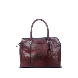 オールドトレンド レディース ハンドバッグ バッグ Soul Stud Leather Satchel Bag RUSTY RED
