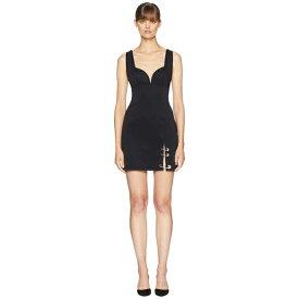 ヴェルサス ヴェルサーチ レディース ワンピース トップス Abito Donna Jersey Dress Black