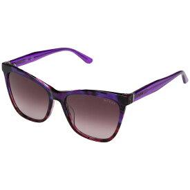 ゲス レディース サングラス&アイウェア アクセサリー GU7520 Violet/Other/Gradient/Mirror Violet
