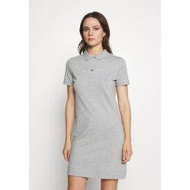 トミー ヒルフィガー レディース ワンピース トップス LOGO DRESS - Day dress - light grey mygp025d