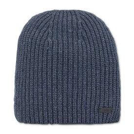 ヒューゴボス メンズ 帽子 アクセサリー BOSS Men's Malloci Ribbed Beanie Hat Dark Blue