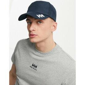 ヘリーハンセン メンズ 帽子 アクセサリー Helly Hansen Crew cap in navy Navy
