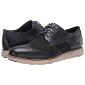 コールハーン メンズ ドレスシューズ シューズ Original Grand Wingtip Oxford Ombre Blue Leather/Denim/Cobblestone