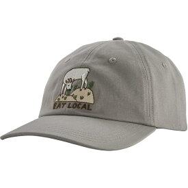 パタゴニア メンズ 帽子 アクセサリー Patagonia Eat Local Traditional Hat DrifterGrey
