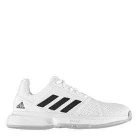 アディダス レディース スニーカー シューズ Courtjam Bounce Womens Tennis Shoes White/Black