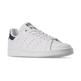 アディダス レディース スニーカー シューズ Women's Stan Smith Casual Sneakers from Finish Line WHITE/NAVY