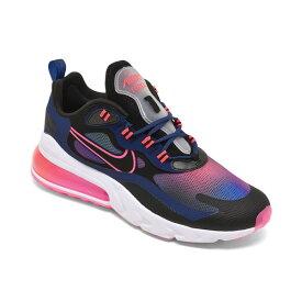 ナイキ レディース スニーカー シューズ Women's Air Max 270 React SE Casual Sneakers from Finish Line Midnight Navy, Black