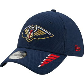 ニューエラ メンズ 帽子 アクセサリー New Era Men's New Orleans Pelicans Rush OTC 39THIRTY Cap Navy