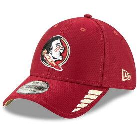 ニューエラ メンズ 帽子 アクセサリー Florida State Seminoles New Era Rush 39THIRTY Flex Hat Garnet