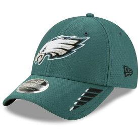 ニューエラ メンズ 帽子 アクセサリー Philadelphia Eagles New Era Rush 9FORTY Snapback Hat Midnight Green