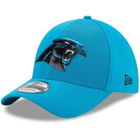 ニューエラ メンズ 帽子 アクセサリー Carolina Panthers New Era 2017 Color Rush 39THIRTY Flex Hat Blue