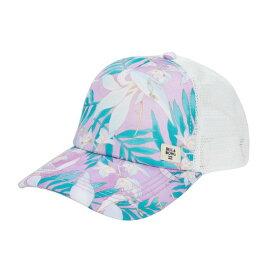 ビラボン レディース 帽子 アクセサリー Heritage Mashup Trucker Lovely Lilac