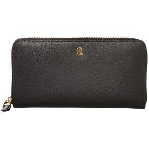 ラルフローレン レディース 財布 アクセサリー Zip Continental Wallet Black