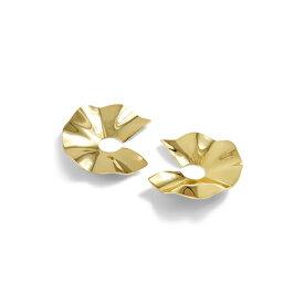 ジェイクルー レディース ピアス&イヤリング アクセサリー J.Crew Wave Earrings Burnished Gold