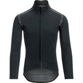 カステリ メンズ サイクリング スポーツ Perfetto RoS Black Out Long-Sleeve Jersey - Men's Light Black/Reflex
