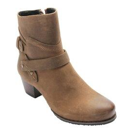 ロスハンマーソン レディース ブーツ&レインブーツ シューズ Women's Ros Hommerson Brittany Boot Khaki Nubuck