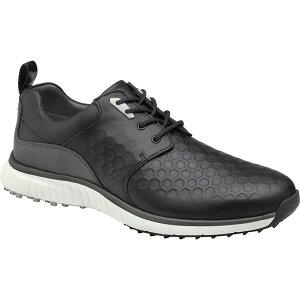 ジョンストンアンドマーフィー メンズ スニーカー シューズ Men's Johnston & Murphy H2 Luxe Saddle Sneaker Black Waterproof Full Grain Leather